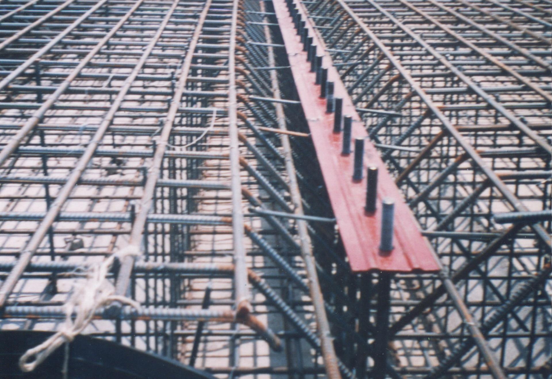 橡胶坝施工过程