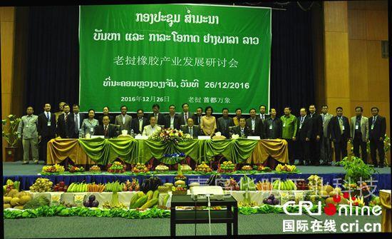 老挝橡胶产业发展研讨会在万象召开