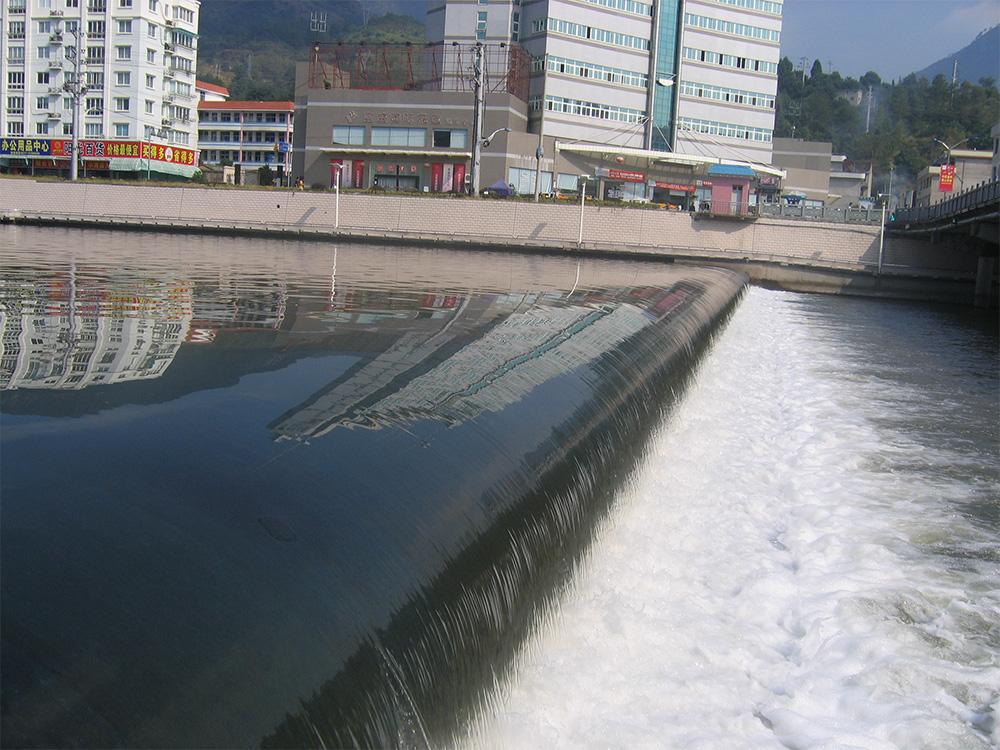 浙江天台橡胶坝