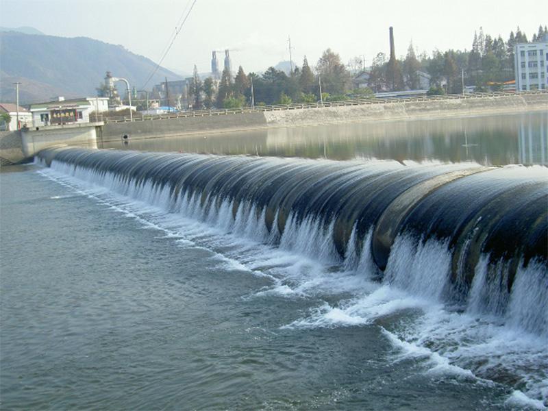 浙江寿昌橡胶坝