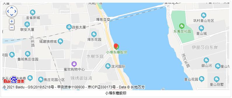 临沂小埠东橡胶坝的地理位置